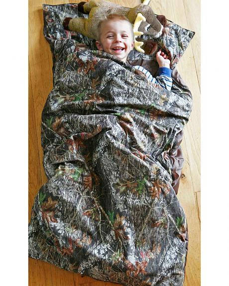 Carstens Home Camo Deer Pillow Slumber Bag