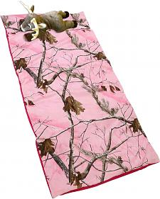Carstens Home Realtree Pink Deer Pillow Slumber Bag