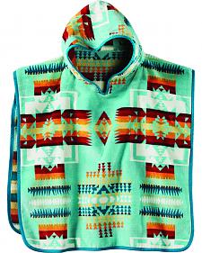 Pendleton Kids' Jacquard Hooded Towel