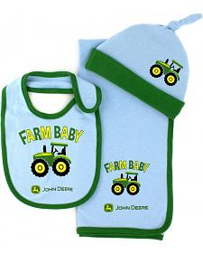 John Deere Infant Boys' Farm Baby 3-Piece Layette Set