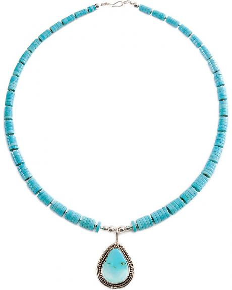 White River Turquoise Stone Necklace