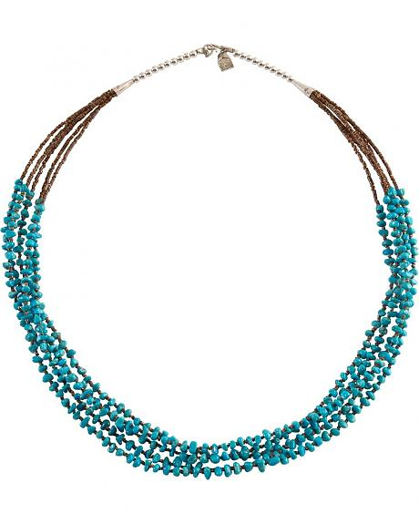 Multi-Strand Handmade Turquoise Necklace