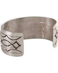 Engraved Nickel Cuff Bracelet at Sheplers