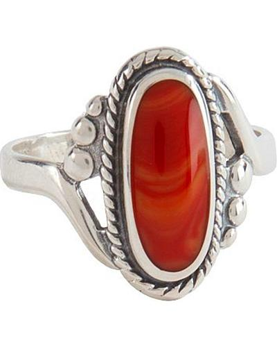 Sterling Silver Spiney Oyster Ring Western & Country R820X
