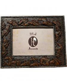 "HiEnd Accents Horses Photo Frame - 4"" x 6"""