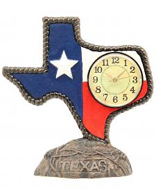 Texas Desk Clock
