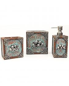 Antique Rose 3-Piece Bathroom Set