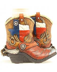 Western Moments Texas Boots Salt and Pepper Shaker Set