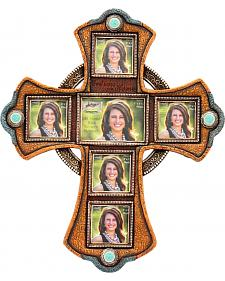 Cross Picture Frame Wall Hanging
