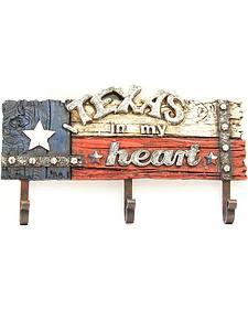 Texas in My Heart Wall Art