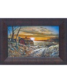 "Jim Hansel ""A Road Less Traveled"" Framed Wall Art - 15"" x 11"""