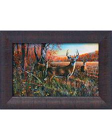"Jim Hansel ""The Gathering"" Framed Wall Art - 15"" x 11"""