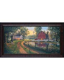 "Kim Norlien ""The Road Home"" Framed Wall Art - 27"" x 15"""