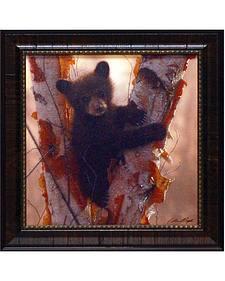 "Collin Bogle ""Curious Cub"" Framed Wall Art - 15"" x 15"""