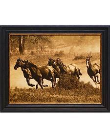 "Artistic Reflections Fairfield ""Wild Horses II"" Framed Art"