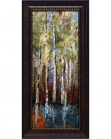 """Allison Pearce Forest Whisper I Framed Wall Art - 11"""" x 23"""""""