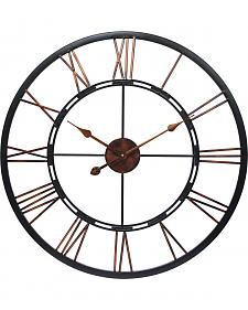 "Infinity Instruments 28"" Metal Fusion Wall Clock"