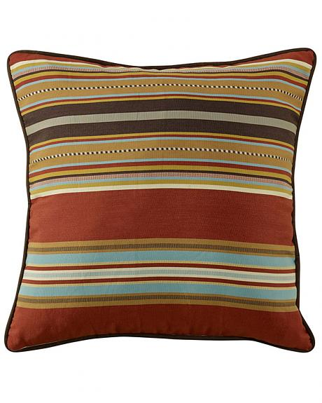 HiEnd Accents Calhoun Reversible Striped Euro Sham