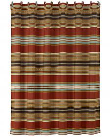 HiEnd Accents Calhoun Striped Shower Curtain