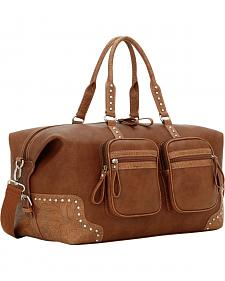 American West Bandana Tan Lake Tahoe Sports Bag