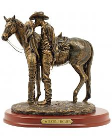 "Western Moments ""Welcome Home"" Statue"