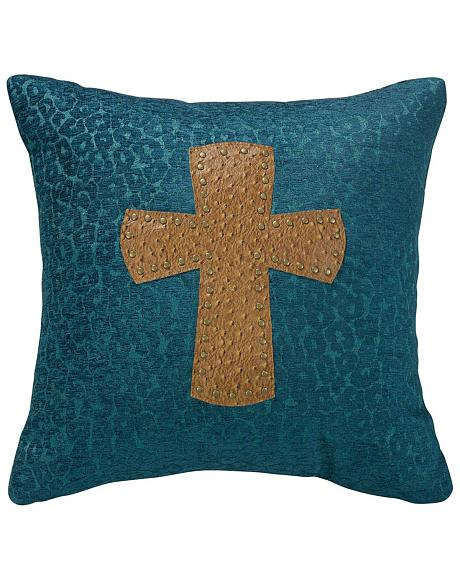 HiEnd Accents Leopard Cross Chenille 18