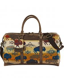 Pendleton Land of the Buffalo Getaway Bag