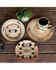HiEnd Accents Artesia 16-Piece Dinnerware Set