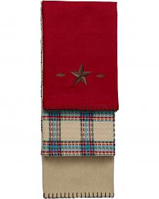 HiEnd Accents Red Star Kitchen Towels - Set of 3