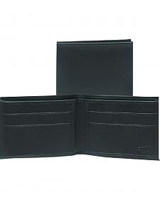 Scully Black Leather Billfold