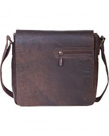 HiDesign by Scully Leather Messenger Briefcase