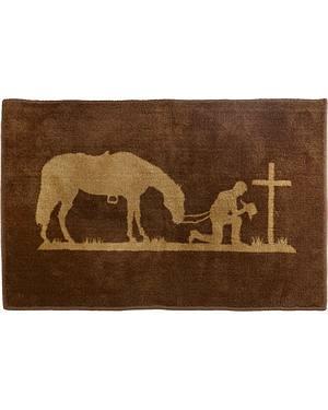 HiEnd Accents Praying Cowboy Rug