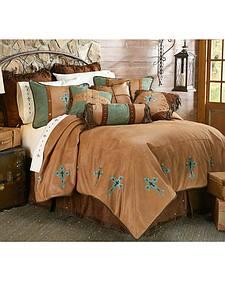 HiEnd Accents Las Cruces II Comforter Set - Queen Size