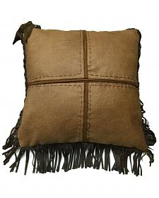 HiEnd Accents Las Cruces II Cross Stitched Pillow