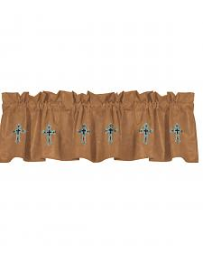HiEnd Accents Las Cruces II Embroidered Valance