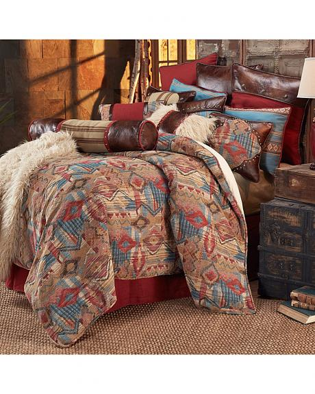 HiEnd Accents Ruidoso Queen 4-Piece Bedding Set