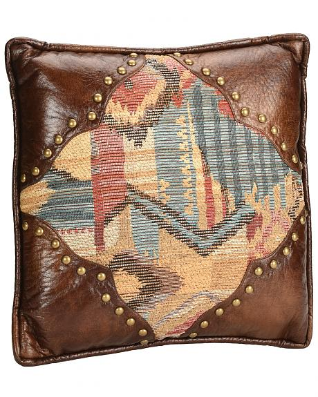 HiEnd Accents Ruidoso Square Pillow with Scalloping