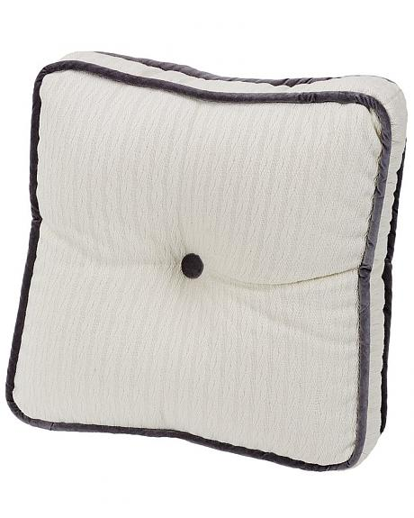 HiEnd Accents Whistler Boxed Square Throw Pillow