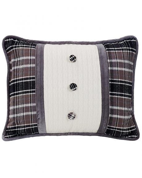 HiEnd Accents Whistler Buttoned Accent Pillow