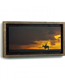 Demdaco When Will the Rain Come Barnwood Shadow Box