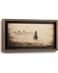 Demdaco Open the Gate Barnwood Shadow Box