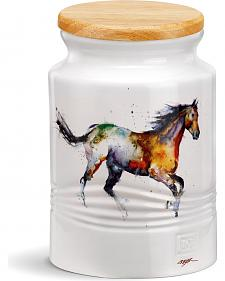 Demdaco Running Horse Medium Canister