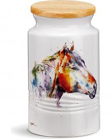 Demdaco Good Lookin' Horse Large Canister
