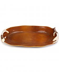 Demdaco Faux Antler Platter