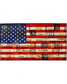 Demdaco Stars and Stripes Wall Art
