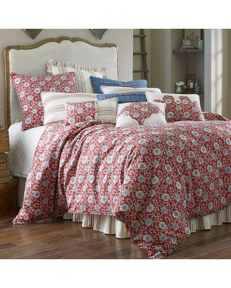 HiEnd Accents Bandera Super Queen 5-Piece Bedding Set