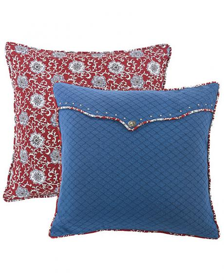 HiEnd Accents Bandera Envelope Euro Sham Accent Pillow