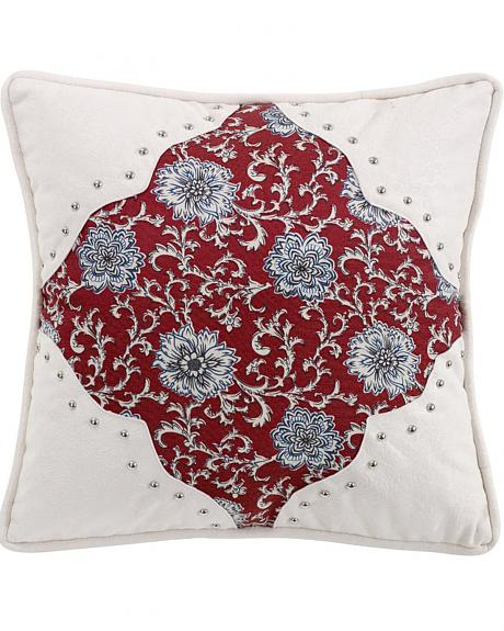 HiEnd Accents Bandera Scalloped Accent Pillow