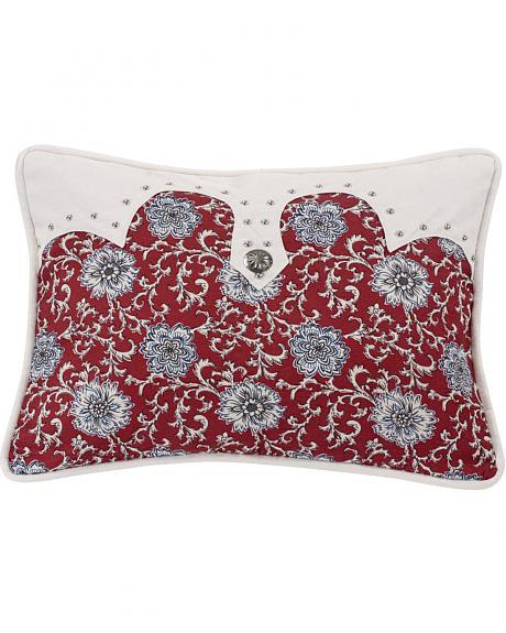 HiEnd Accents Bandera Oblong Concho Accent Pillow