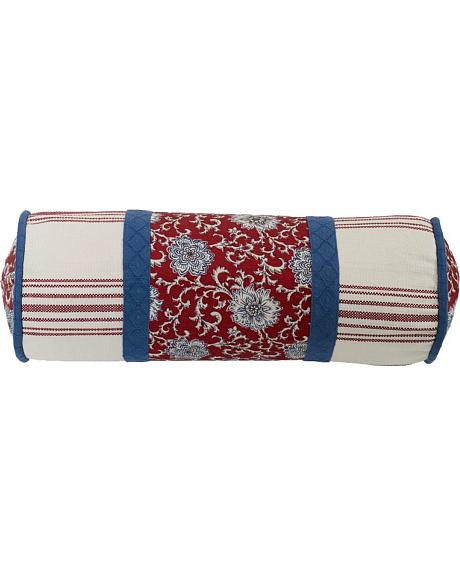 HiEnd Accents Bandera Floral Neckroll Pillow